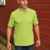 Рубашка поло мужская Eclipse H2X-Dry белая, размер XXL