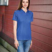 Рубашка поло женская Eclipse H2X-Dry белая, размер XS