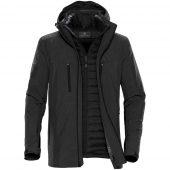 Куртка-трансформер мужская Matrix серая с черным, размер XXL