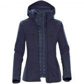 Куртка-трансформер женская Matrix темно-синяя, размер L