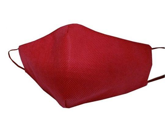 Маска для лица многоразовая из спанбонда, бордовый, арт. 019188103