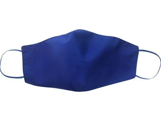 Маска для лица многоразовая, синий, арт. 019138203
