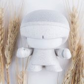Портативная колонка mini Xboy Eco, белый, арт. 019185003