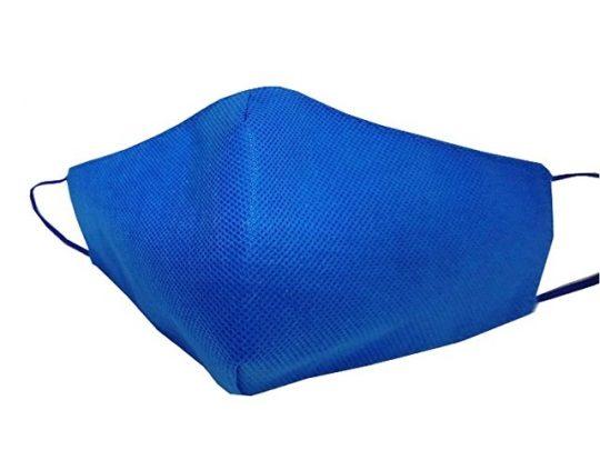 Маска для лица многоразовая из спанбонда, синий, арт. 019188003