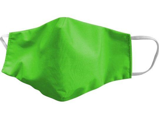 Маска для лица многоразовая, зеленый, арт. 019187103