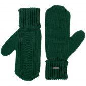 Варежки Brugge, зеленые, размер L/XL
