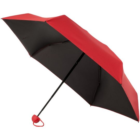 Складной зонт Cameo, механический, красный
