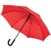 Зонт-трость с цветными спицами Bespoke, красный