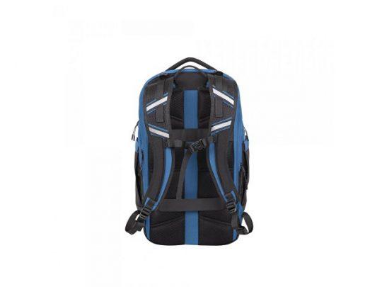 Рюкзак для ноутбука 17.3, черный/синий, арт. 019344403
