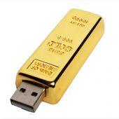 USB-флешка на 64 ГБ в виде слитка золота, золотой (64Gb), арт. 019439503