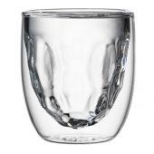 Стаканы Elements Metal 2 шт, 75 мл, прозрачный (75 мл), арт. 019350803