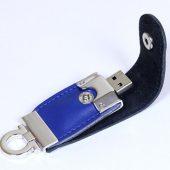 USB-флешка на 32 Гб в виде брелка, синий (32Gb), арт. 019437103