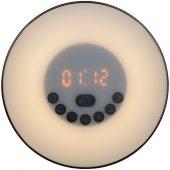 Лампа-колонка dreamTime для пробуждения светом и музыкой, черная