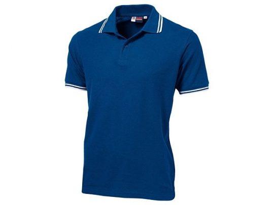 Рубашка поло Erie мужская, классический синий (2XL), арт. 019586903