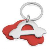 Брелок Автомобиль, красный/серебристый, арт. 019564203