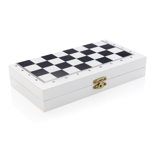 Набор настольных игр 3 в 1 в деревянной коробке, арт. 019585506