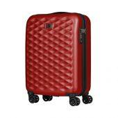 Чемодан WENGER Lumen, красный, поликарбонат, 40 x 20 x 55 см, 32 л (32л), арт. 019681803