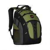Рюкзак Granite WENGER 16, зеленый, полиэстер, 38 x 25 x 49 см, 27 л, арт. 019681003