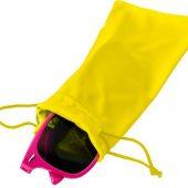 Чехол из микрофибры Clean для солнцезащитных очков, желтый, арт. 019686703