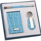 Набор: визитница, шариковая ручка, брелок, арт. 019620003