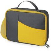 Изотермическая сумка-холодильник Breeze для ланч-бокса, серый/желтый, арт. 019692003