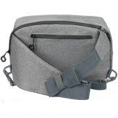 Рюкзак на одно плечо Burst Tweed, серый