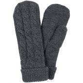 Варежки Heat Trick, темно-серый меланж, размер S/M