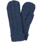 Варежки Heat Trick, синий меланж, размер S/M
