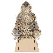 Декоративная фигура Ель с электрической свечой, арт. 020060103