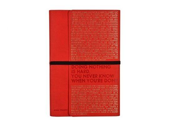Ежедневник недатированный А5 Bilbao, красный, арт. 020066103