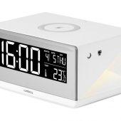 Часы с беспроводным зарядным устройством Rombica Timebox 2, белый, арт. 020143503