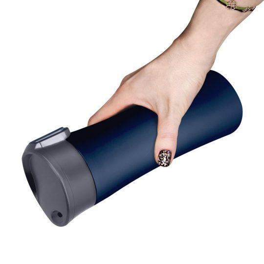 Термокружка вакуумная герметичная, Baleo, 450 ml, матовое покрытие, синяя