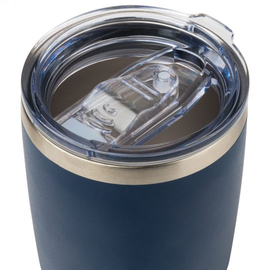 Термокружка вакуумная, Viva, 400 ml, синяя