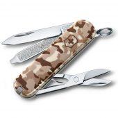 Нож перочинный Classic 58, бежевый камуфляж