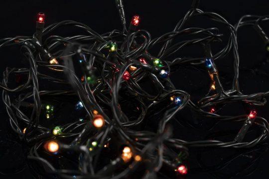 Гирлянда illumiNation Maxi, с лампами накаливания, разноцветная