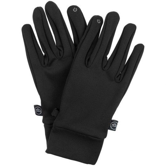 Перчатки Knitted Touch черные, размер M