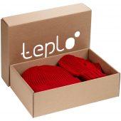 Набор Nordkyn Full Set с шарфом, красный, размер L