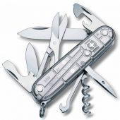 Офицерский нож CLIMBER 91, прозрачный серебристый
