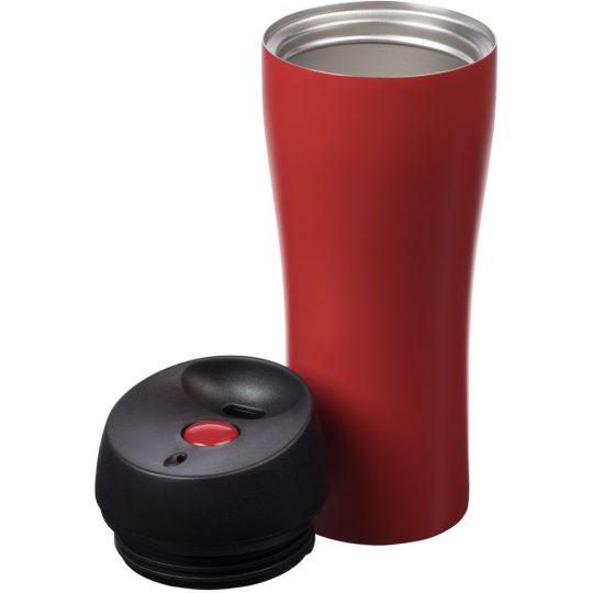 Термостакан Solingen, вакуумный, герметичный, красный