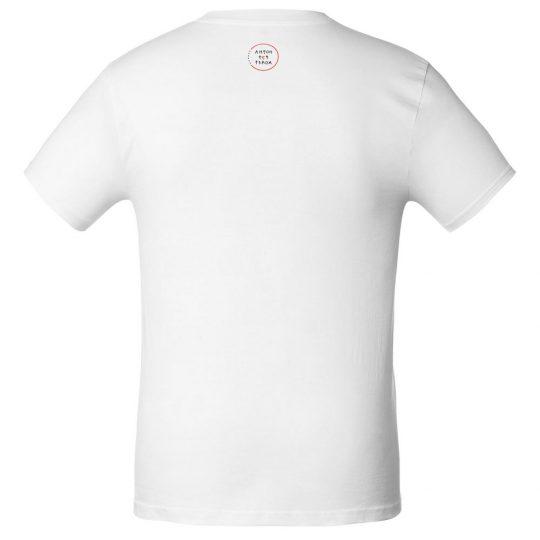 Футболка мужская приталенная «Прикоснуться словами», белая, размер M