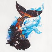 Полотенце «Гиганты Вселенной», белое