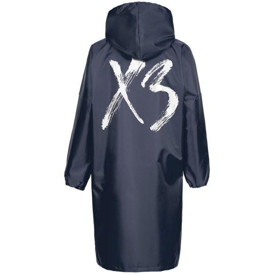 Дождевик «ХЗ», темно-синий, размер XXL