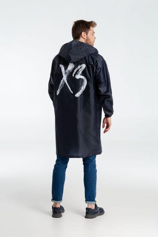 Дождевик «ХЗ», темно-синий, размер M