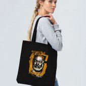 Холщовая сумка «Хемингуэй», черная