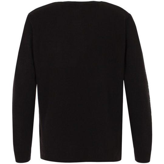 Джемпер «Юношеский минимализм», черный, размер S