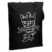Холщовая сумка Sacred Bones, черная