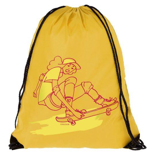 Рюкзак Skateboard, желтый