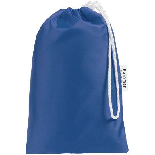 Дождевик «Смываемся», ярко-синий, размер S