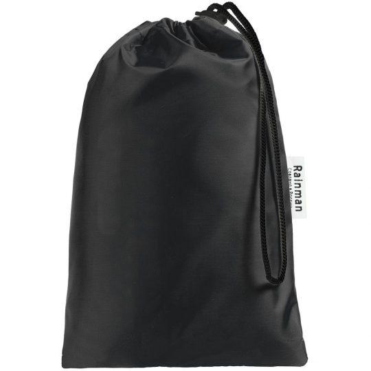 Дождевик «Сплавляюсь», черный, размер M