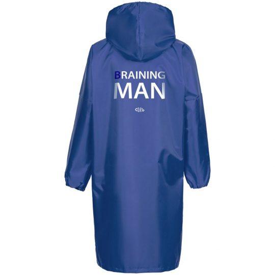 Дождевик Braining Man, ярко-синий, размер XL